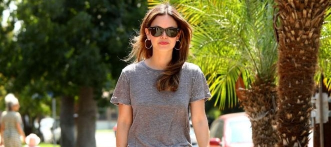 [CANDIDS] Rachel out in Bervely Hills